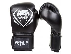 boxing gloves box venum contender black f6
