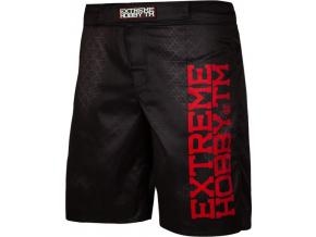 Grappling šortky Extreme Hobby BLACK ARMOUR - černé