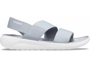 Crocs LiteRide Stretch Sandal W Light Grey/White