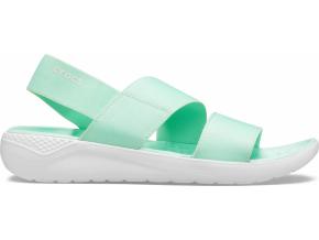 Crocs LiteRide Stretch Sandal W Neo Mint/Almost White