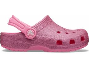 Crocs Classic Glitter Pink Lemonade