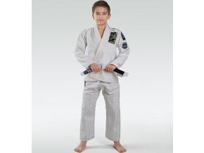 Dětské BJJ kimono / gi Ground Game Junior 3.0 - Bílé
