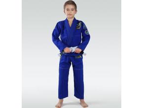 Dětské BJJ kimono / gi Ground Game Junior 3.0 - Modré