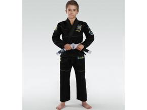 Dětské BJJ kimono / gi Ground Game Junior 3.0 - Černé