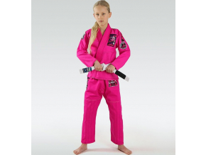 Dětské BJJ kimono / gi Ground Game Junior 3.0 - Růřové
