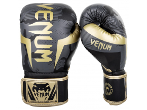 boxerky venum elite darkcamo gold 1