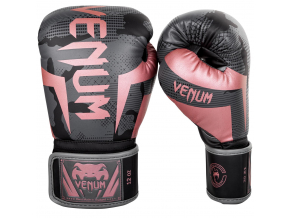 boxerky venum elite black pink gold 1
