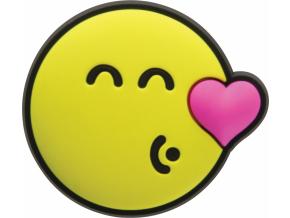 Crocs Odznáček Jibbitz - Smiley Brand Kissing Smiley