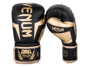 boxerky venum elite black gold 1