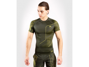 rashguard short venum loma commando khaki 1