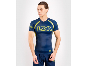 rashguard short venum loma origins blueyellow 1