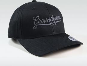 Kšiltovka Ground Game College Shadow - Black