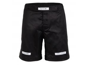 mma shorts sortky tatami rival black solid f1