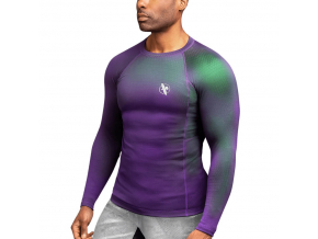 rashguard hay fusion purple green 1