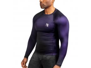 rashguard hay fusion black purple 1