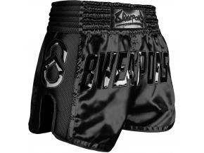8 weapons muay thai shorts noir schwarz