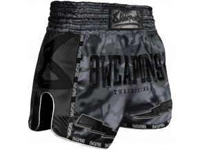 8 weapons muay thai short night camo