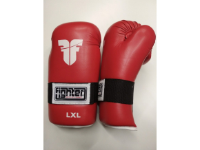 open gloves fighter red 1
