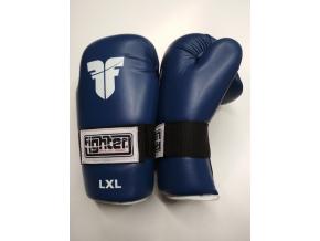 open gloves fighter blue 1