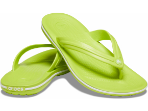 Crocs Crocband Flip Lime Punch/White