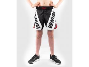 detske mma shorts venum bandit blackgrey 1