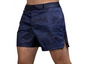 mma shorts hayabusa hex mid navy 1