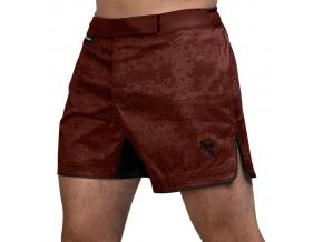 mma shorts hayabusa hex mid red 1