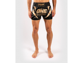 muay thai shorts venum xonefc blackgold 1