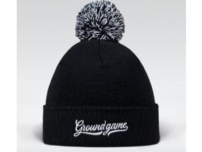 Zimní čepice Ground Game Vinted - Černá