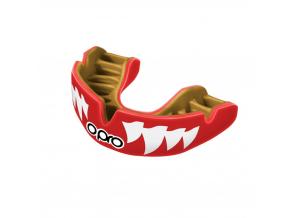 Chránič zubů Opro Power Fit Jaws - červená/zlatá