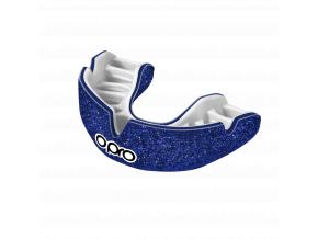 Chránič zubů Opro Power Fit Galaxy - lesklá modrá/bílá