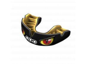 Chránič zubů Opro Power Fit Agression - černá/zlatá/červené oči