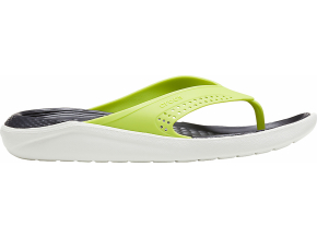 Crocs LiteRide Flip Lime Punch/Almost White