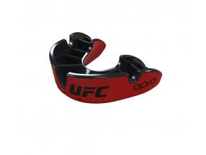 Chránič zubů Opro Silver UFC - červená/černá