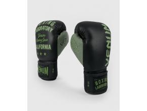 boxerky venum boxinglab blackgreen 1