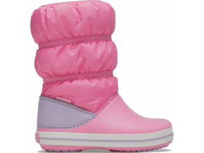 Crocs Crocband Winter Boot K Pink Lemonade/Lavender