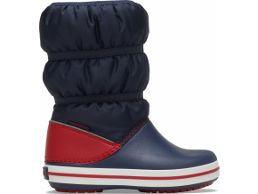 Crocs Crocband Winter Boot K Navy/Red