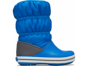 Crocs Crocband Winter Boot K Bright Cobalt/Light Grey