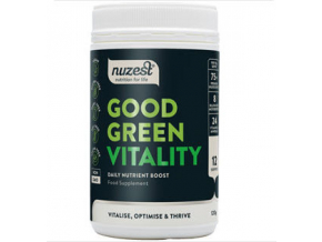 Nuzest Good Green Vitality  120 g + Šejkr Smart 350 ml. ZDARMA