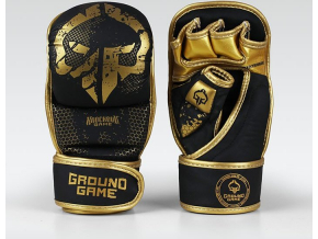 Tréninkové rukavice Ground Game MMA Cage Gold