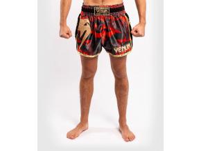 muaythai shorts venum giant camo redgold 1