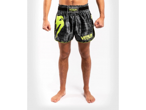 muaythai shorts venum giant camo blackyellow 1