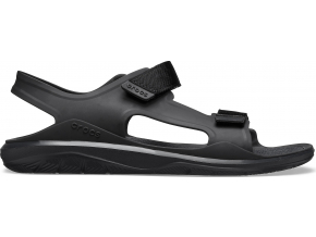 Crocs Swiftwater Molded Expedition Sandal Black/Black