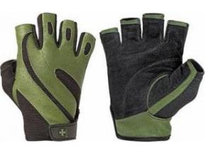 Harbinger Fitness rukavice 143 PRO pánské, kožené, bez omotávky