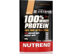 Nutrend 100% Whey Protein 500g - EXP. 3/2021 (POSLEDNÍ KUS)