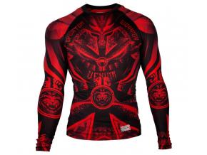 rashguard gladiator3 black red