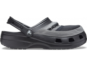 Crocs Classic Venture Pack Clog Black/Slate Grey