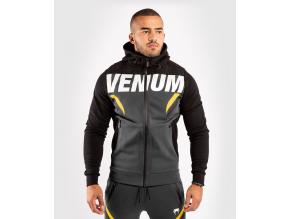 hoodie venum onefc impact greyyellow 1
