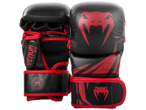 sparring mma gloves venum challenger30 blackred 1