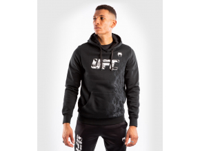 pullover hoodie men´s panska pullover mikina ufc venum fight week black f1